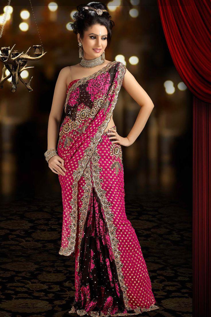 indian saree | Latest Indian Designer Sarees