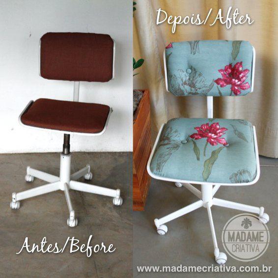 Como reformar cadeira e estofado de cadeira Eames - Como restaurar madeira lascada - Passo a Passo com fotos - How to restore Eames Chair - ...