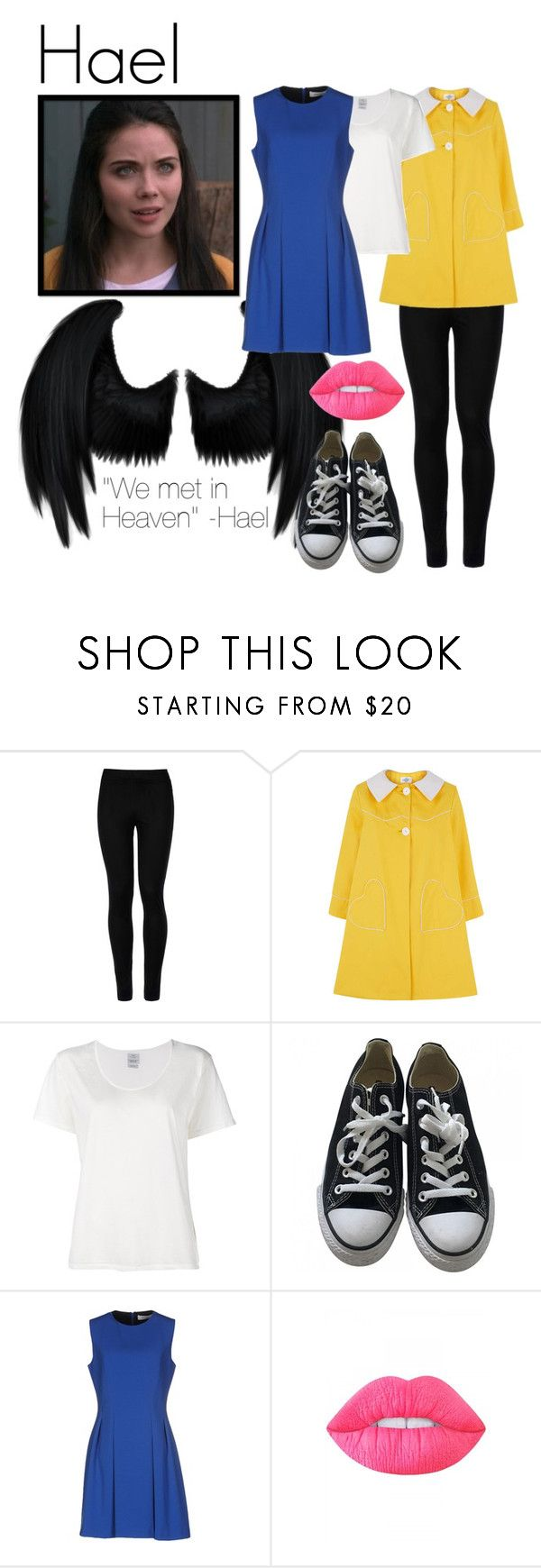 """""""Hael"""" by cas1967 ❤ liked on Polyvore featuring Wolford, Loveheart, Visvim, Converse, Mauro Grifoni, Lime Crime, angel, supernatural, cw and hael"""
