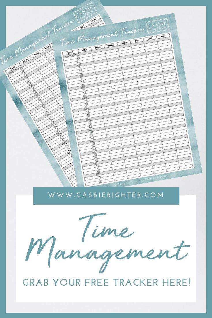time management tracker opt in how to organize like a mom boss