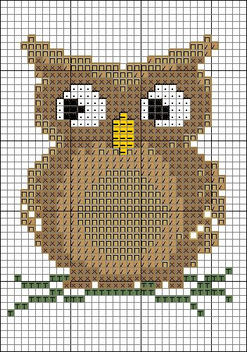 Cross stitch pattern part 1
