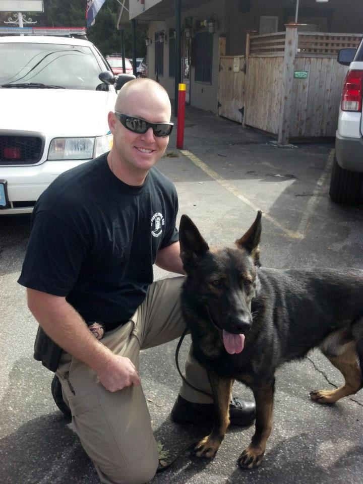 February 2013 Working Dog of the Month Officer Aaron ...
