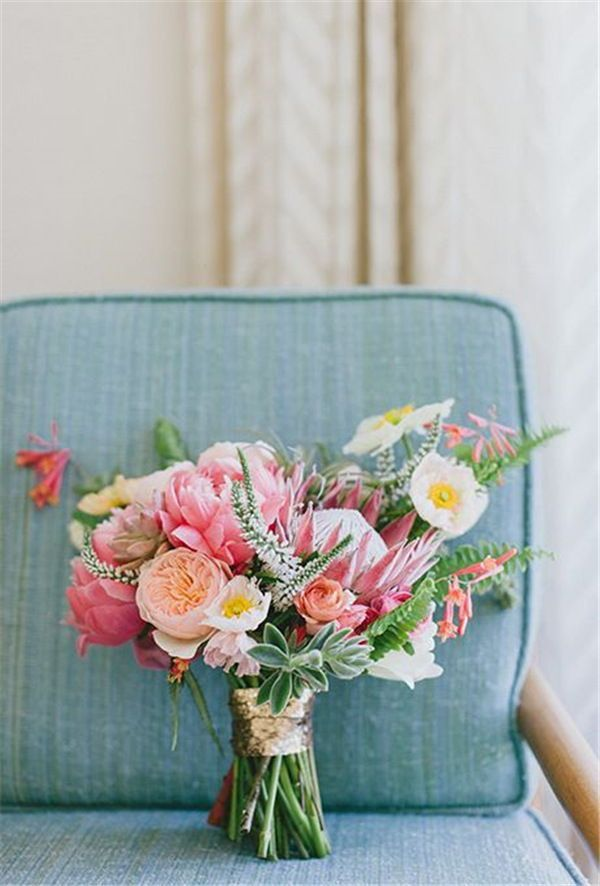 22 Tropical King Protea Wedding Bouquets Ideas Coral Charm Peony Wedding Bouquets Pink Flower Bouquet Wedding