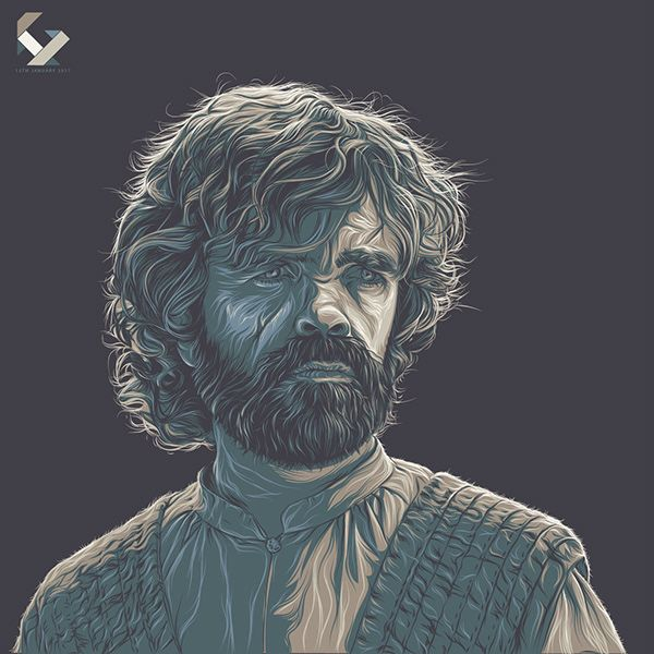 Game of Thrones (GOT) example #114: Game of Thrones Art Tribute on Behance