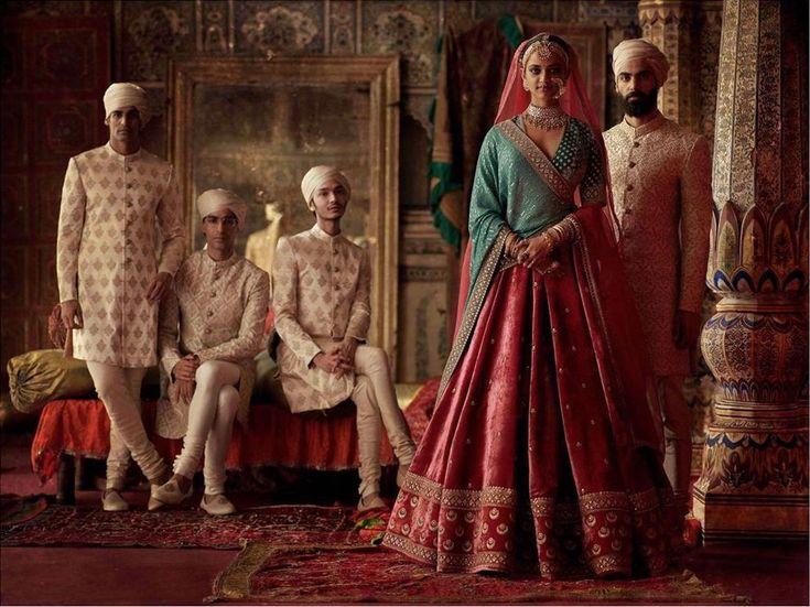 2019 Sabyasachi Charbagh Bridal Lehenga Collection