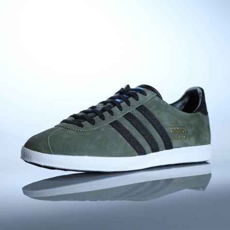 Chaussures Adidas modèle GAZELLE OG style inimitable depuis 1968 Tige en  suède de qualité supérieure Détails