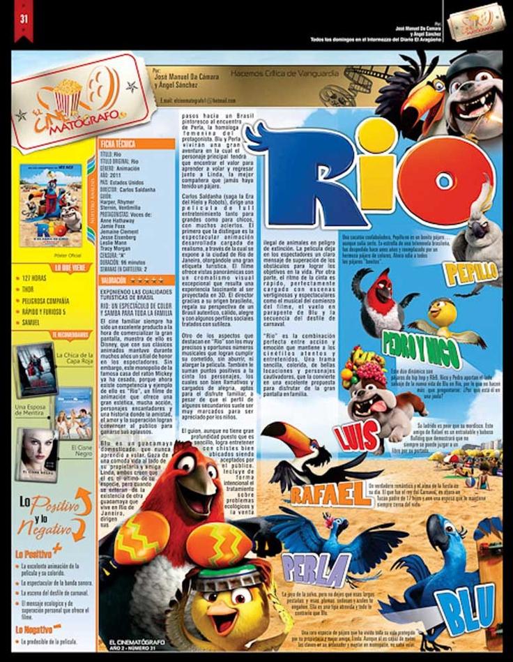 El Cinematografo No.31  Pelicula: Rio