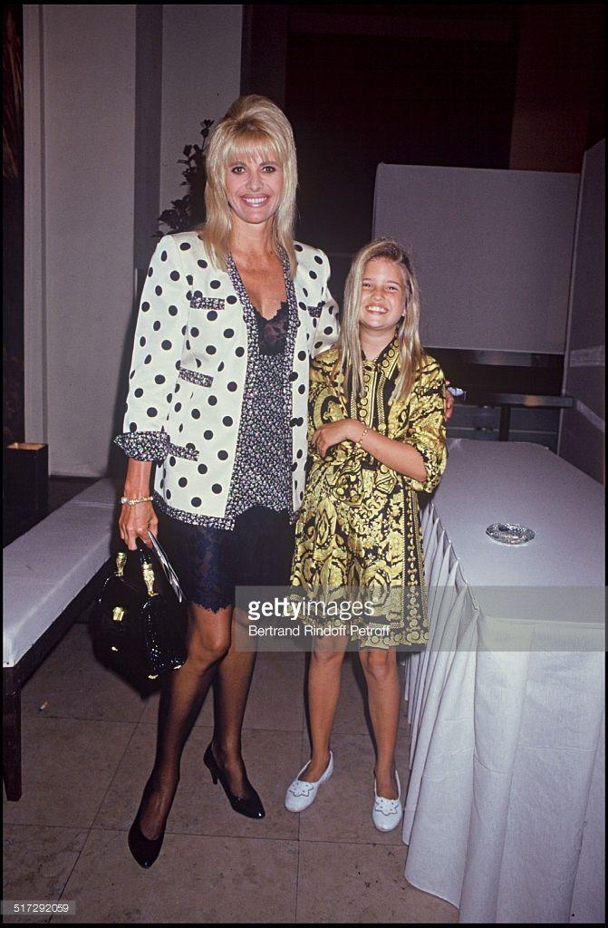 Ivana Trump with her daughter Ivanka Trump