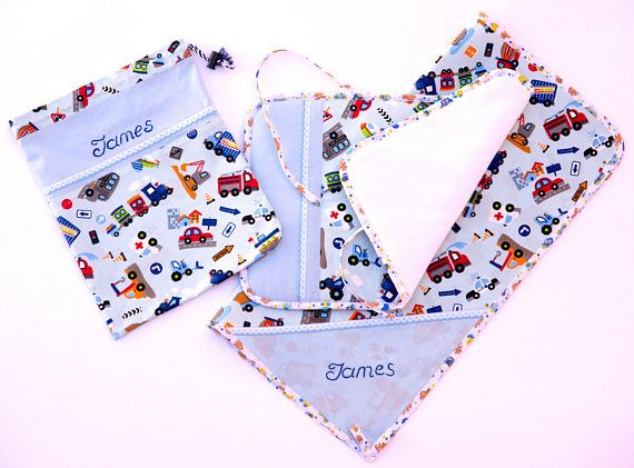 Personalized Gift for Boy Changing Pad Newborn Gift Travel