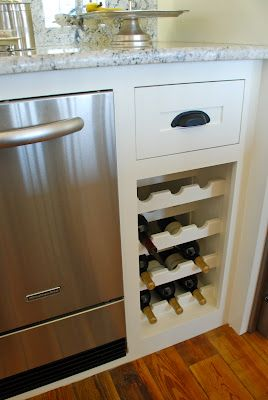 Built In Wine Cabinet U0026 Drawer (or Shelf?)