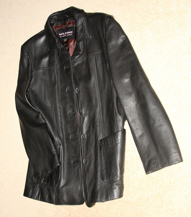 Wilson's XL Winter Leather Jacket Great and Stylish SEE PHOTOS  #Wilsons #LeatherStylingandProfilingCoat