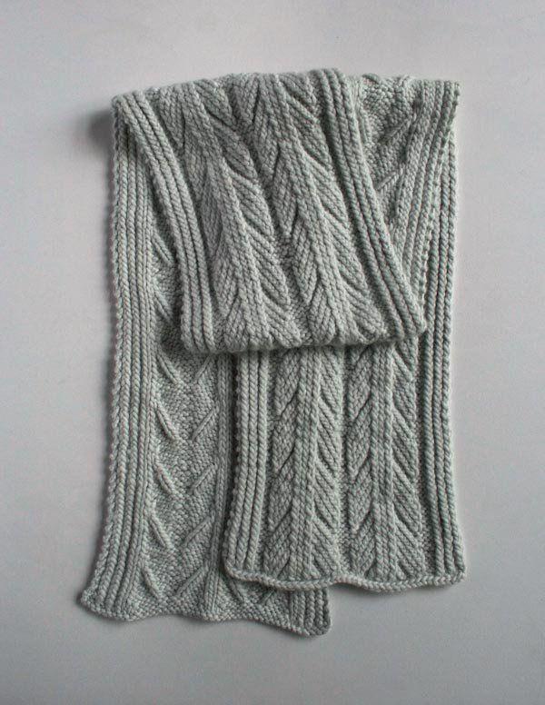 Ancient Stitch Scarf