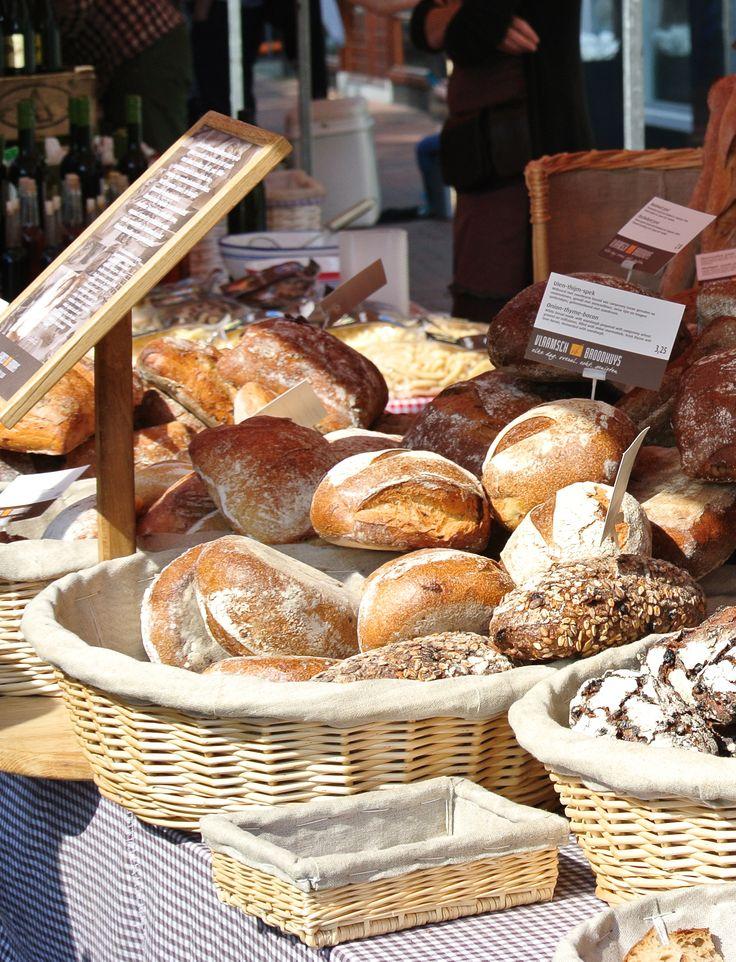 Ambachtelijk brood | Streekmarkt Hilversum