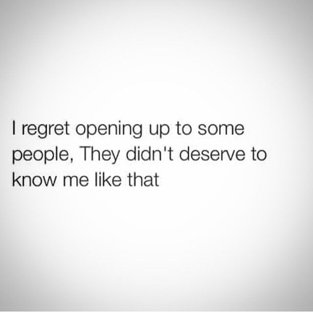 This could not be any more true.  I've learned that some secrets need to remain secrets, even to people you thought were your best friends.  Your life doesn't have to be an open book.