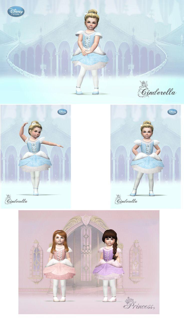 Disney Princess Cinderella Ballerina Costume Dress for sims 3 download at: http://furiental.wordpress.com/2014/04/ #sims3 #sims3toddlers #sims3fashion #disney