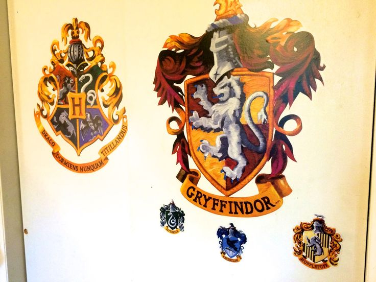 Harry Potter Wall decals on the closet