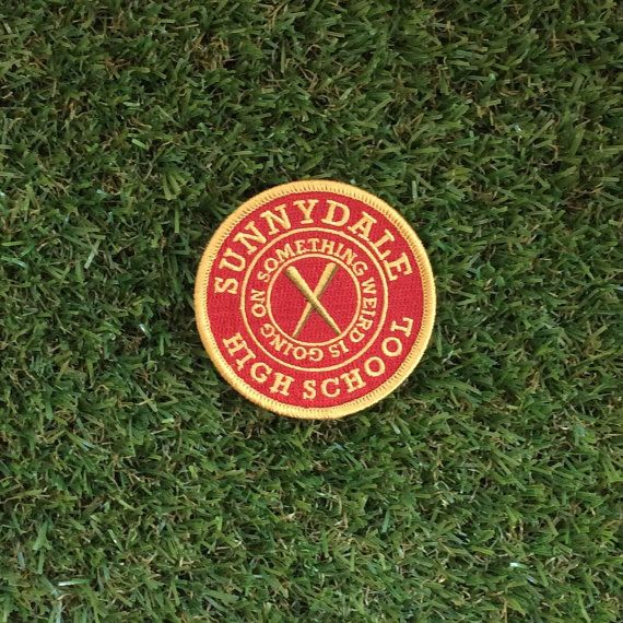 Buffy the Vampire Slayer inspired Sunnydale High School iron-on fan patch