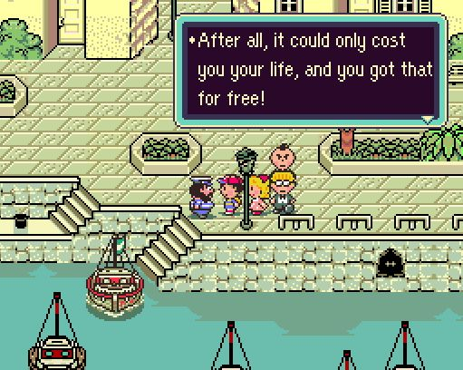 One of my favorite Earthbound quotes