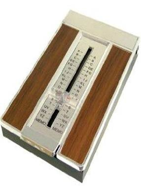 Telephone book, my Ouma and Aunts had this, I loved playing with it ;-)