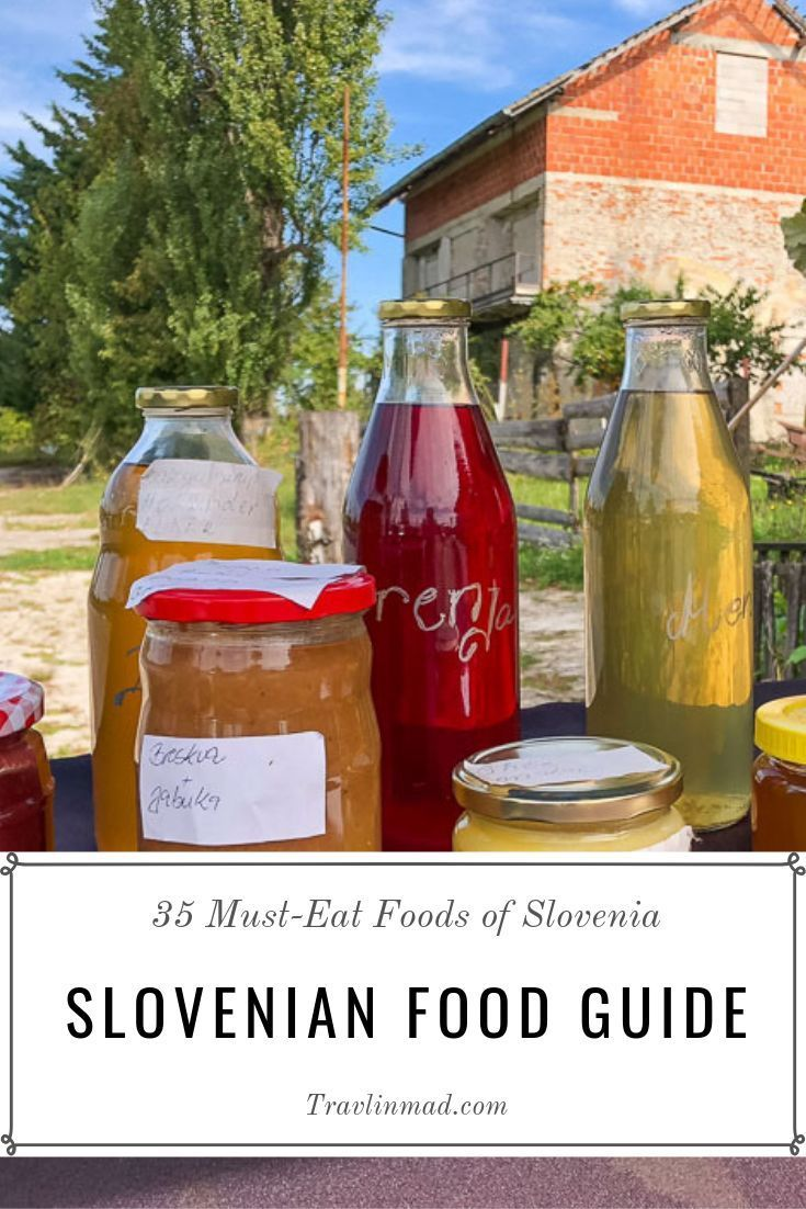Traditional Slovenian Food A Regional Guide To The Country S Tastiest Foods Travlinmad Food And Travel Blog In 2020 Slovenian Food Food Guide Food