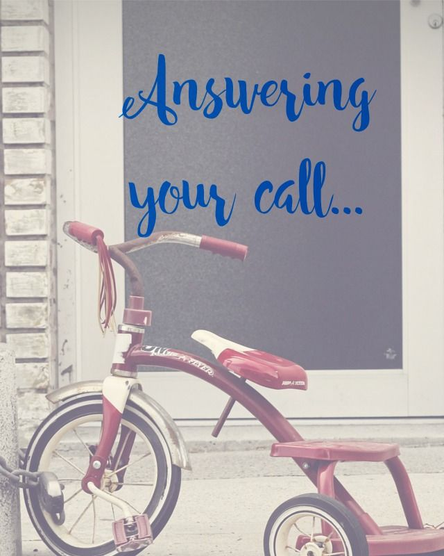 Answering your Call | Amanda Ashby