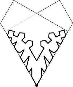 cut paper snowflakes patterns - Bing Изображения