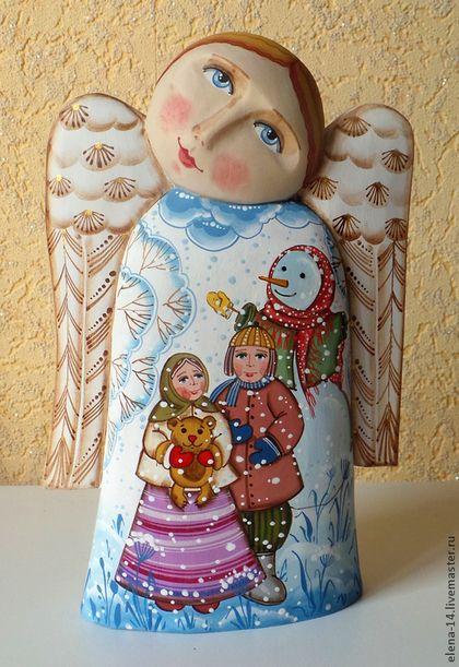Новый год 2014 ручной работы. Ярмарка Мастеров - ручная работа Ангел. Handmade.