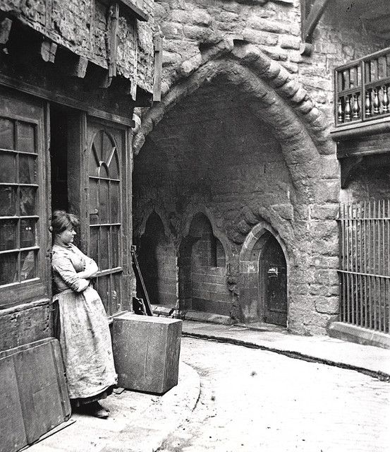 053546:Black Gate Newcastle upon Tyne J.P. Gibson Undated by Newcastle Libraries, via Flickr