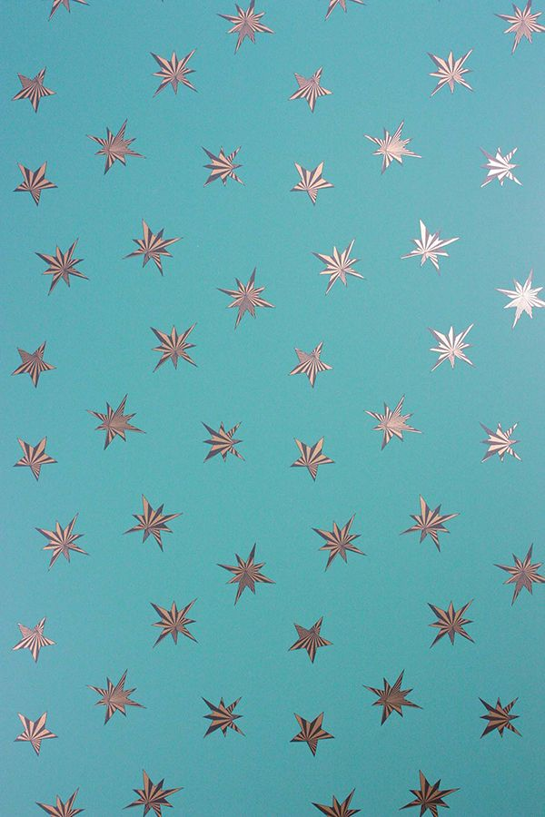 Stars Wallpaper. Christmas Wallcoverings. Belvoir by Matthew Williamson. Osborne & Little. Wirz Tapeten AG