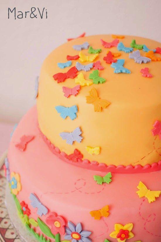 cumpleaños temático de mariposas