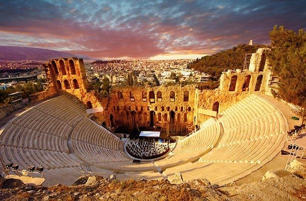 Odeon of Herodes Atticus, Athens, Greece | 9 Of The Most Beautiful Theatres In The World You Should See Before You Die