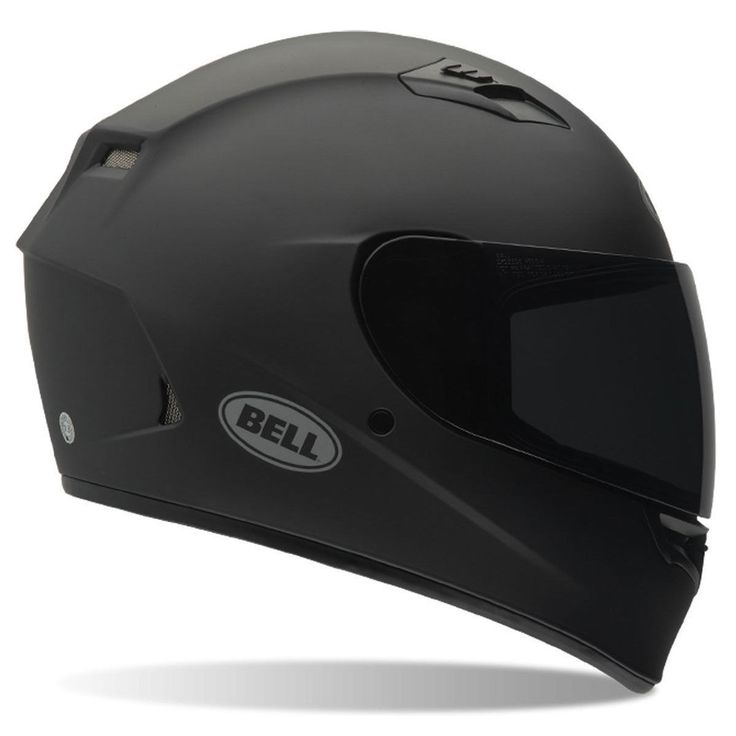 Bell Qualifier Matte Black Motorcycle Helmet DOT Full-Face