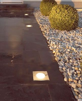 1000 images about landscape lighting on pinterest for In ground walkway lights