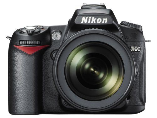 Nikon D90 12.3MP DX-Format CMOS Digital SLR Camera with 18-105 mm f/3.5-5.6G ED AF-S VR DX Nikkor Zoom Lens $1199.95
