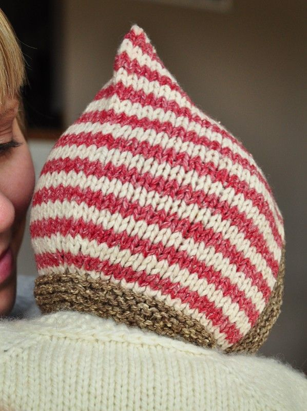 Pixie hat pattern: Baby Pixie Hat Pattern, Pattern Babyhat, Hats, Babyhat Kni...