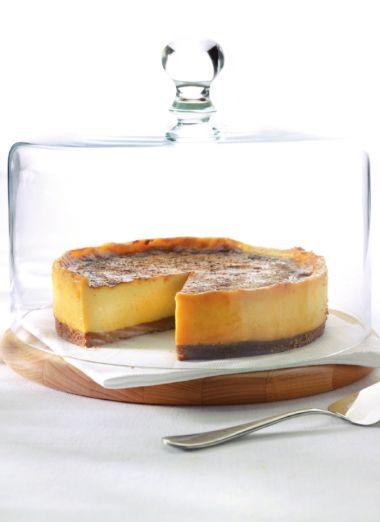 Recept voor zachte kaastaart met limoencrème | njam!