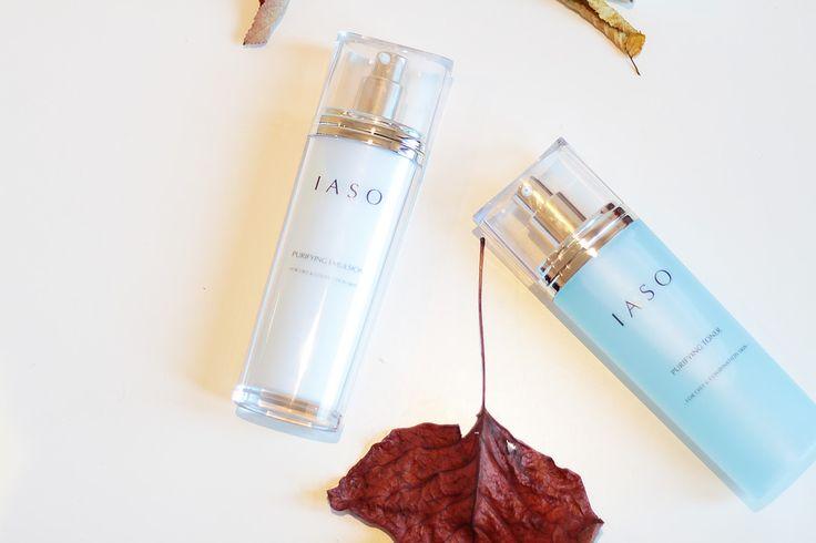 IASO korean skincare purifying toner purifying emulsion review