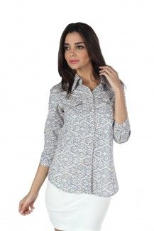 MOJO Cotton Shirt IN WHITE  Rs. 1,499