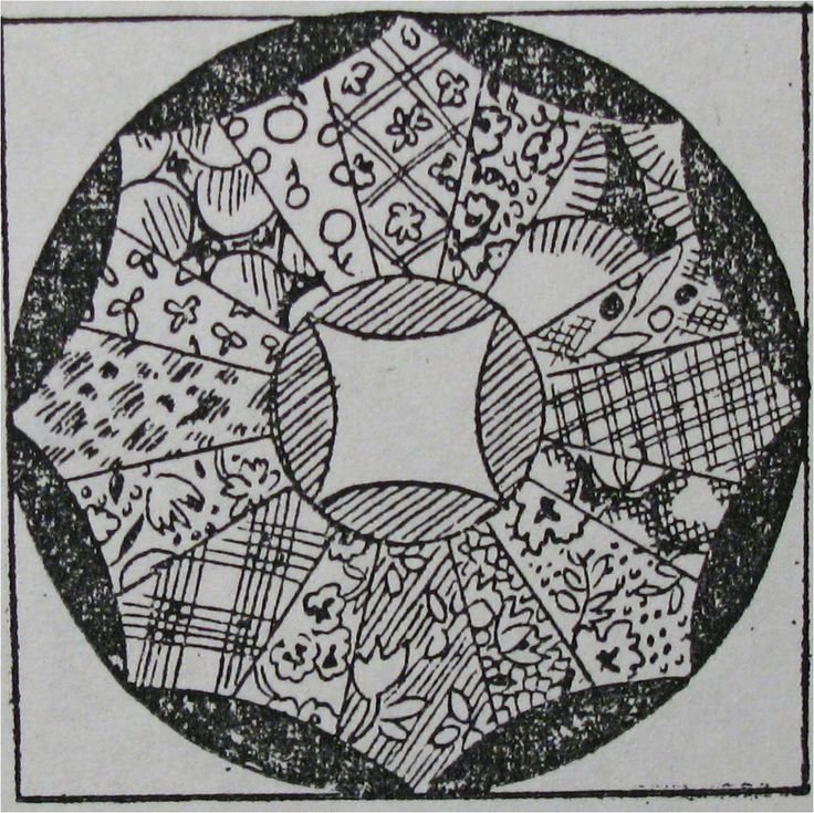 dating an old ring quilt pattern