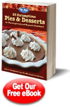 25 Scrumptious Pies & Desserts for Thanksgiving (click on the photo to download the eBook & recipes)