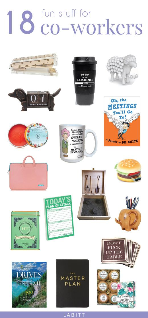These gift ideas are great for your bosses, managers, supervisors. Going  away gifts for coworker. - 18 Greatest Gift Ideas For Coworkers Boss Gift Pinterest Gifts
