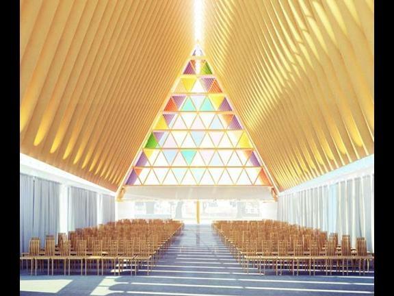 Shigeru Ban's Cardboard Cathedral Christchurch
