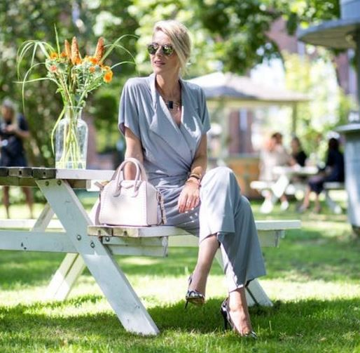 Blogger Sofie Valkiers from Fashionata in By Malene Birger Umpio jumpsuit