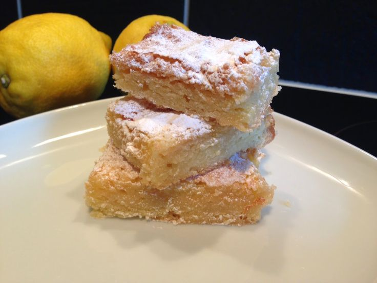 Simple Lemon Bars