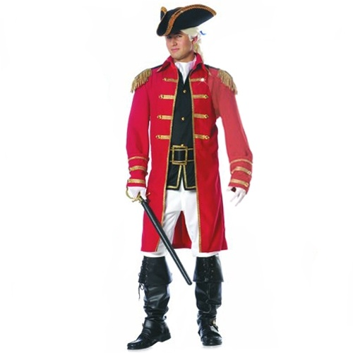What Is A Red Coat - JacketIn