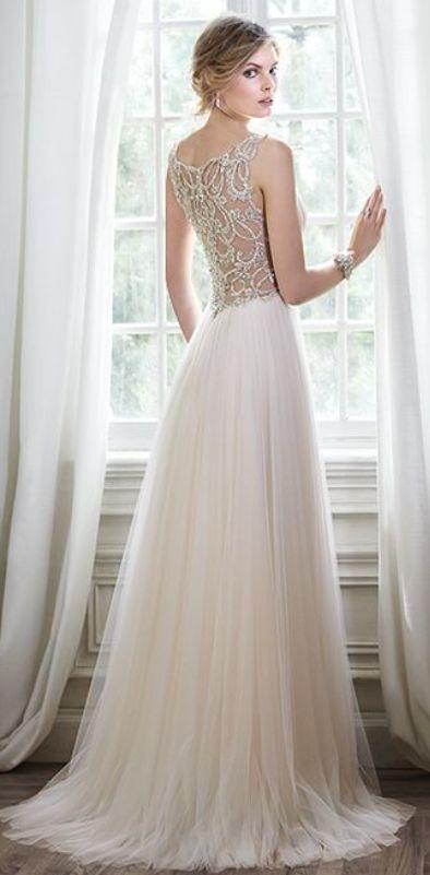 Wedding dress idea; Featured Dress: Maggie Sottero