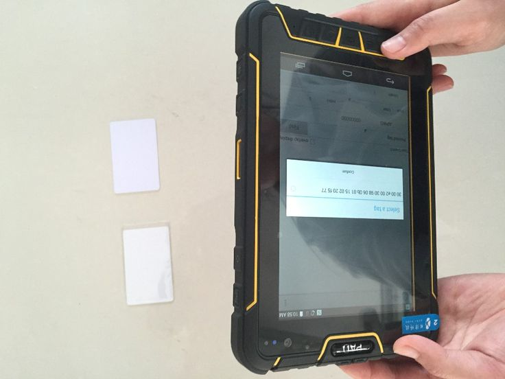 Android4.4.4 tablet 7 inch with 3G,WIFI,SIM card ,2D BarCode RFID Card reader---ST907