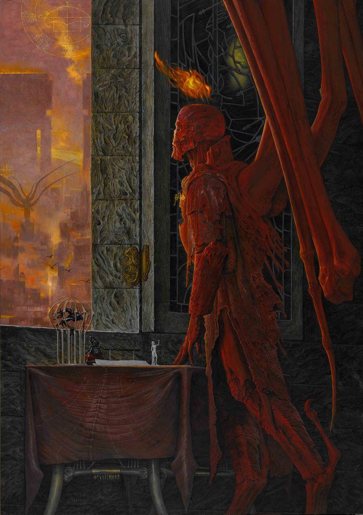 ELIGOR - GOD'S DEMON COVER copy  Artwork of hell  http://waynebarlowe.wordpress.com/artwork/hell/#
