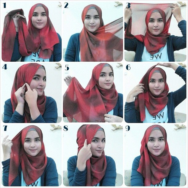 Hijab tutorial by Sister Zahra