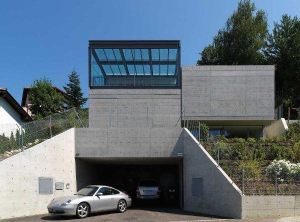 Contemporary House Design In Comano Switzerland By Davide Macullo
